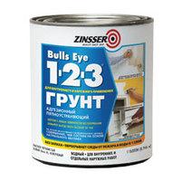 Универсальный адгезионный стирол-акриловый грунт Zinsser Bulls Eye 1-2-3 Primer