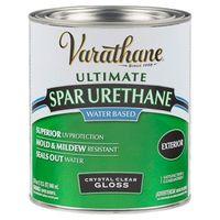 Лак акрил-уретановый на водной основе для наружных работ Varathane Premium Spar Urethane