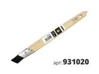 МАКО Кисть штриховая с наклоном щетины, элитная черная mako® all in one синтетическая щетина 931020