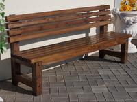 Скамейка «Гранд» без подлокотников -  1,8 м.