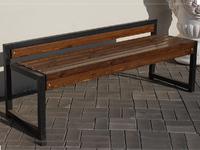Скамейка «Модера» без спинки - 1,5 м.