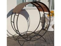 Дровница металлическая дачная (диаметр 1,30 м)