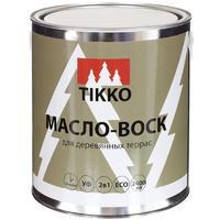 Масло с воском для наружных работ TIKKO