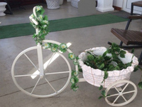 Подставка под вазон «Велосипед»
