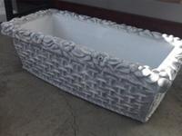 Вазон декоративный «ЦВЕТОЧНИК» ф-0,90*0,40м., h-0,30 м.